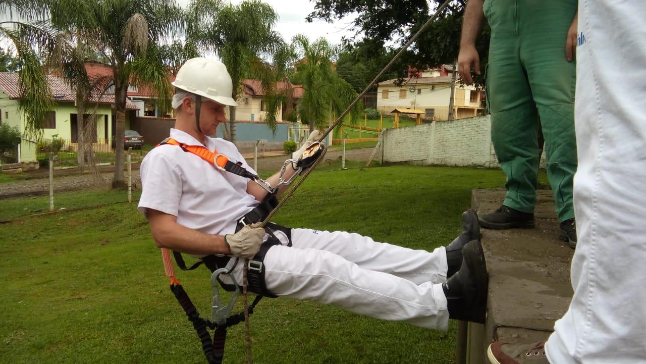 Treinamento de Trabalho em Altura -