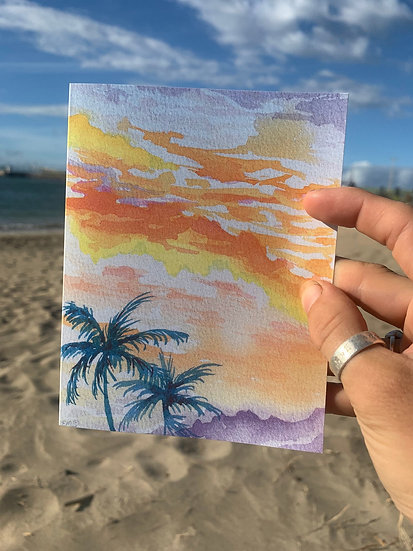 Dreamsicle Greeting Card