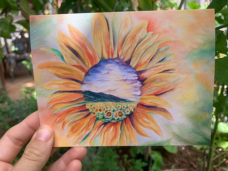 Sunflowers for Days Greeting Card