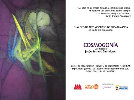 COSMOGONÍA en el Museo de Arte Moderno de Bucarmanga