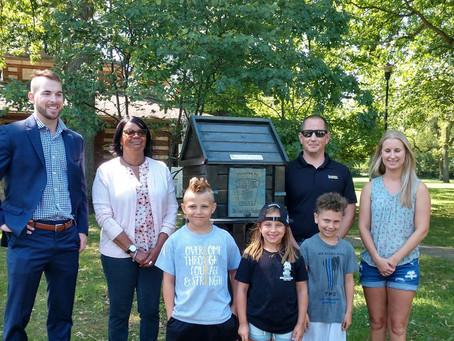 Little library commemorates fallen Toledo officers