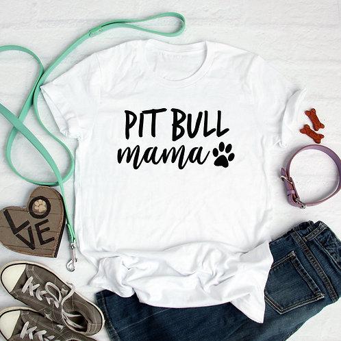 PitBull Mama Cotton Tee