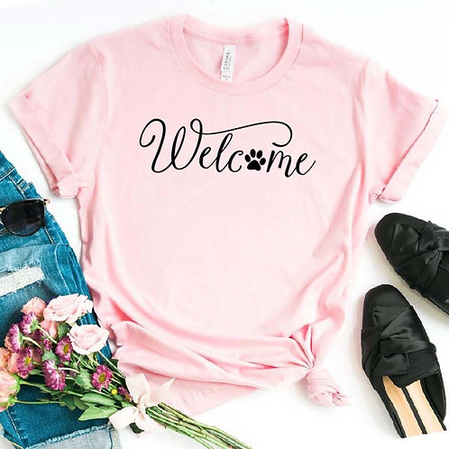 Welcome Dog Tshirt