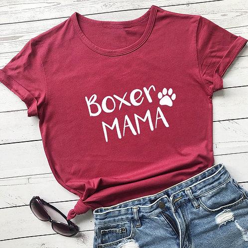 Boxer Mama Tshirt