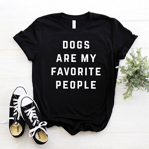 Dogs Are My Favourite People Tshirt