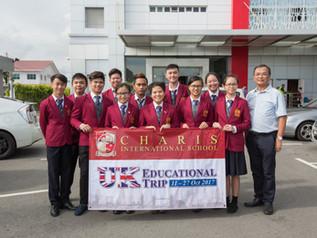Charis Study Trip to UK