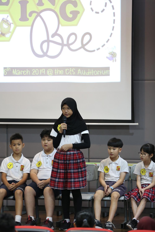 3rd Place Winner : Defa Izza Khairunnisa (Primary 6)