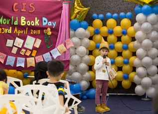 Charis World Book Day 2018