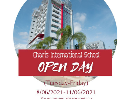 Come & Join us in Charis Virtual Open Day!