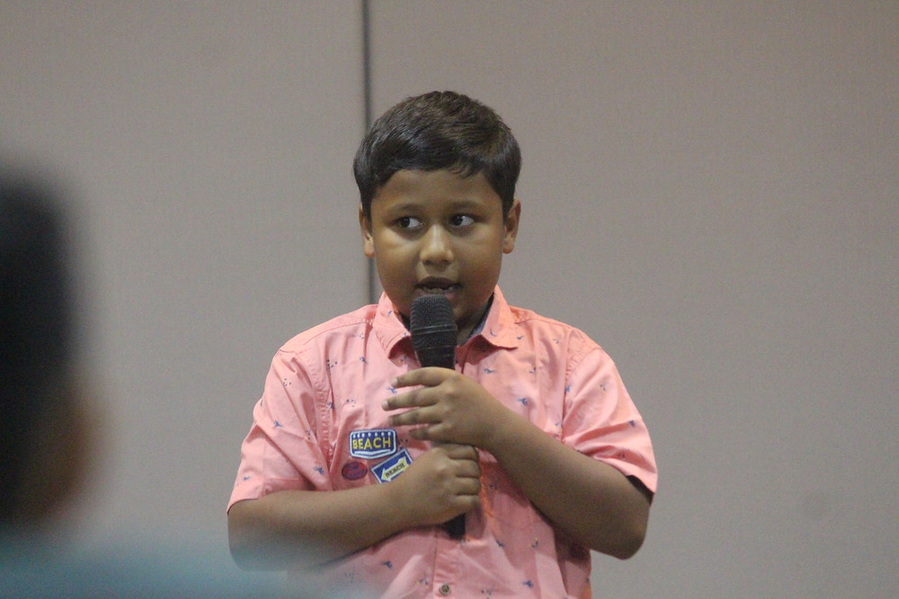 Farzad Ahmed (Primary 4)