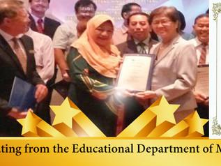 CIS Awarded 4-Star Rating  学校荣获4星评价