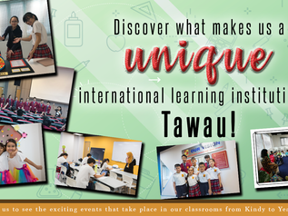 Discover what makes us a unique international learning institution in Tawau!