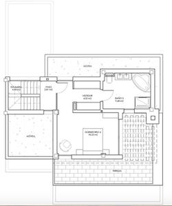 Plan 2ème étage - Villas