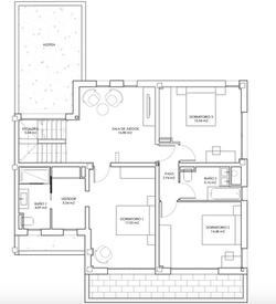 Plan 1er étage - Villas
