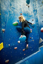 Mica Cutts Climbing