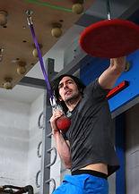 Richard Bartlett Climbing