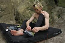 Ben Mackenzie Climbing