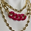 Thumbnail: Acrylic chain with U chain necklace, chain necklace