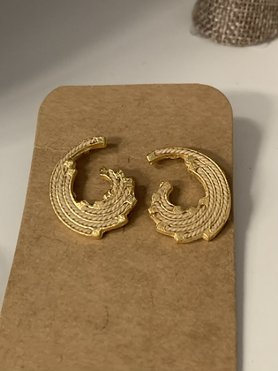 Natura 18 Kt earrings
