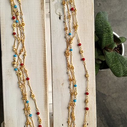 Vintage Gold Plated Chains