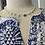 Thumbnail: Cursive silver initials & Swarovski Pearls
