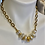 Thumbnail: Coin Pearls with 24 Kt brush gold plated flowers