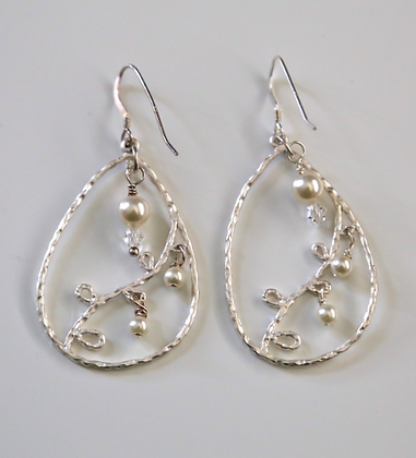 Abstract design earrings