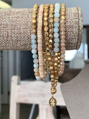 Beaded wrap bracelets , wrap bracelets that are also necklace
