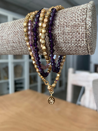 Beaded wrap bracelets, wrap bracelets that are also necklaces