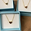 Thumbnail: Heart and chain , gold plated heart chain