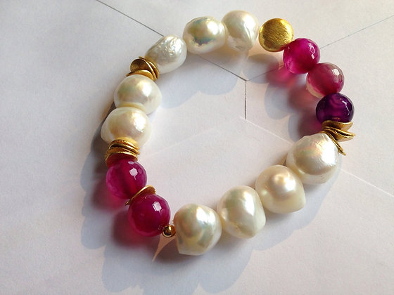 Pearl with Agate
