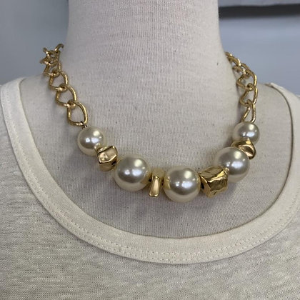 Summer Collection faux Pearls and Gold