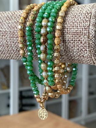 Beaded wrap bracelet, wrap bracelets that are also necklaces