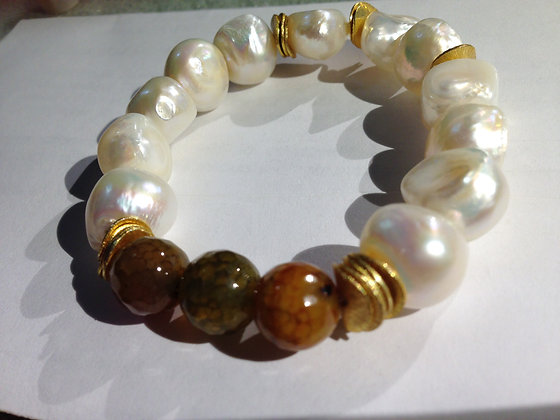 Pearls and Agate