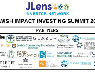 2nd Jewish Impact Investing Summit Goes Virtual May 18&19