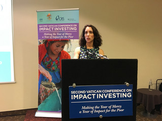 Jewish Insights from Vatican Conference on Impact Investing