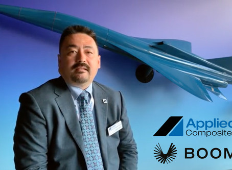 Applied Composites + Boom Supersonic