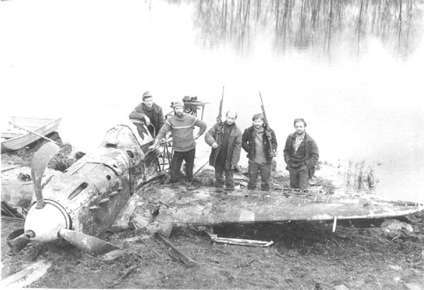 Yak 1 Recovery in Russia