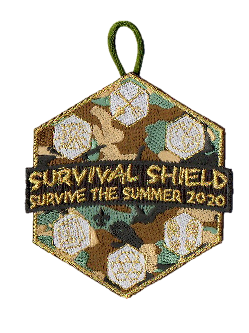 Metallic Survive the Summer Patches