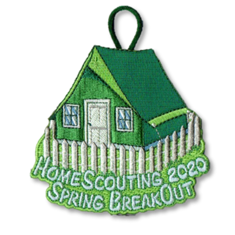 Spring BreakOut Award Patch from HomeScouting Program