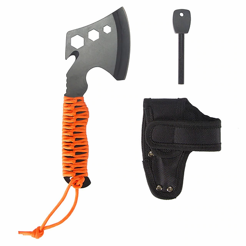 Multi-Tool Axe with Paracord Handle