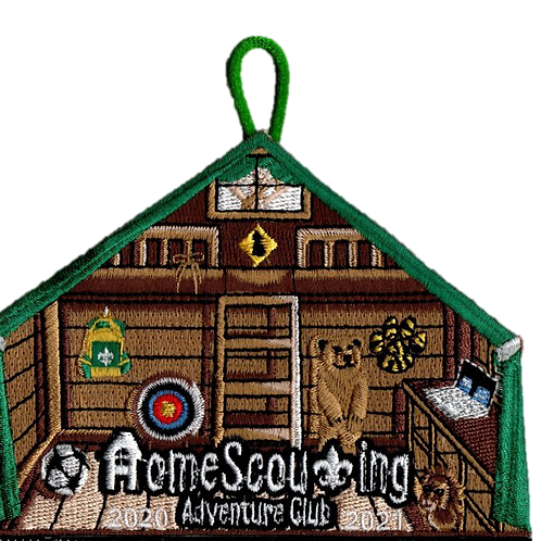 HomeScouting Adventure Club Patch