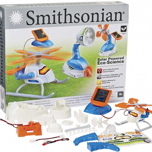 Solar Powered Eco-Science Three-Project Kit
