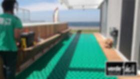 techos verdes Uruguay Argentina jaridin en terraza verde