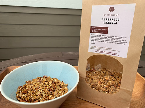 SUPERFOOD GRANOLA (12 OZ)