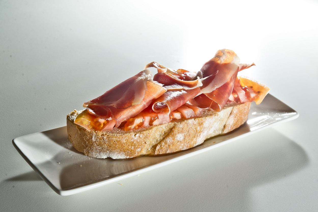 Spanish Cured Ham Pintxo