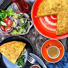 "Spanish omelet ""Tortilla de Patata"""