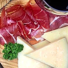 Spanish Iberico Ham & Manchego Cheese Platter