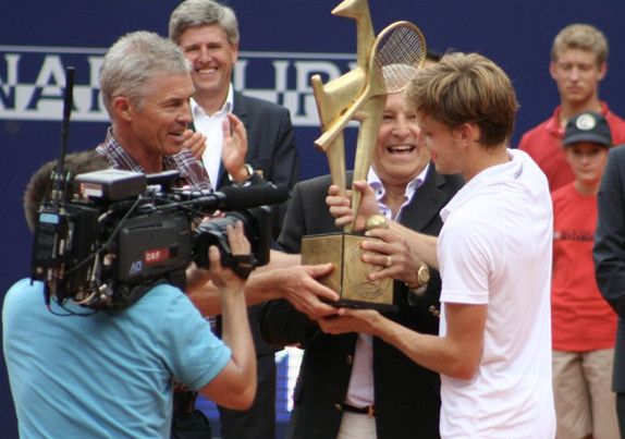 Chris Lewis and David Goffin