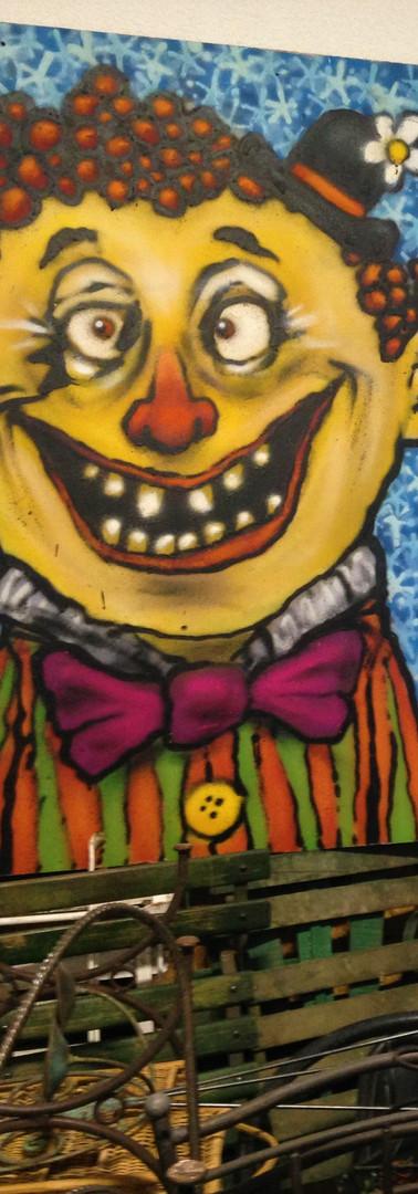mon atelier avec mon ami le clown